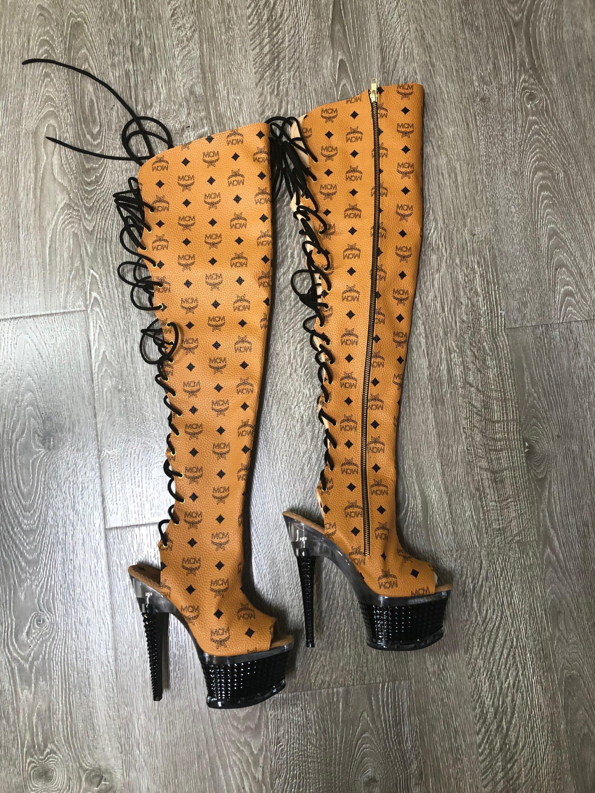 MCM Custom Pattern Stripper Boot